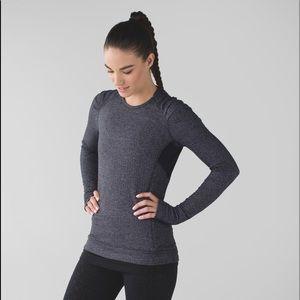 Lululemon Think Fast Long Sleeve Sweater Size 10